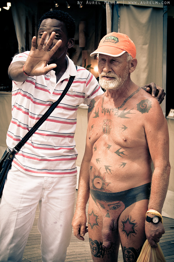 Barcelona-naked-old-man-with-tattoos-18 - DYSTALGIA : Aurel ...