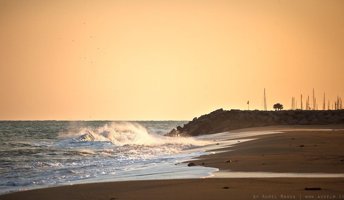 Costa Brava sunset
