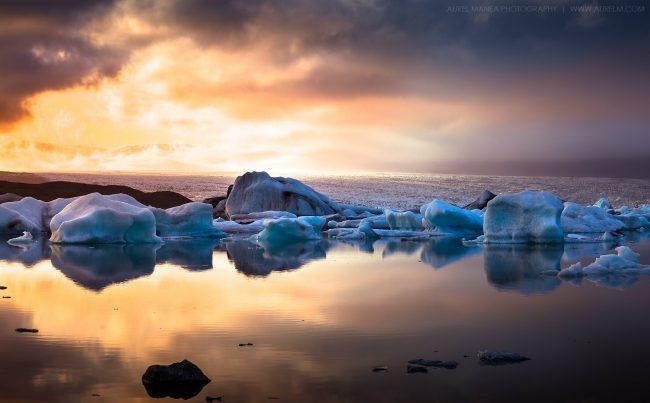 Gallery-Jokulsarlon-lake-sunset-in-Iceland-02