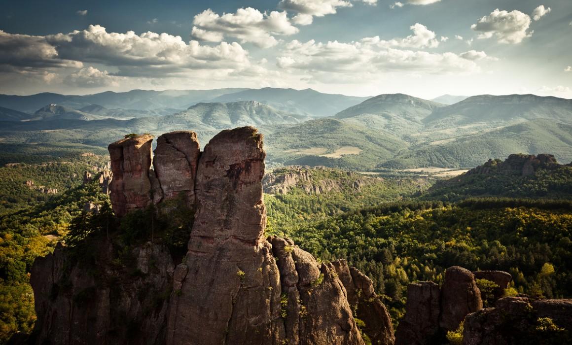 Belogradchik, Bulgaria. A beautiful landscape